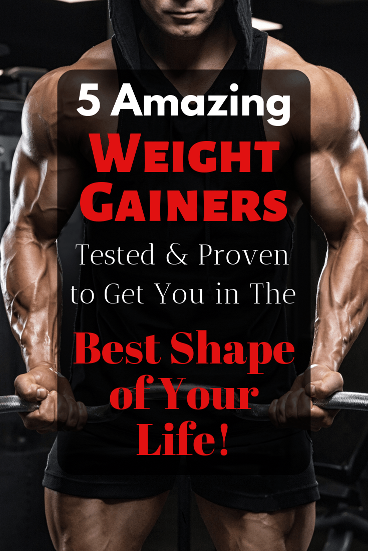 Weight gainers are an effective and safe way to bulk up. Click here for the top 5 weight gainer supplements without side effects! All supplements reviewed are backed by science and proven to help you build muscle and pack on weight fast!