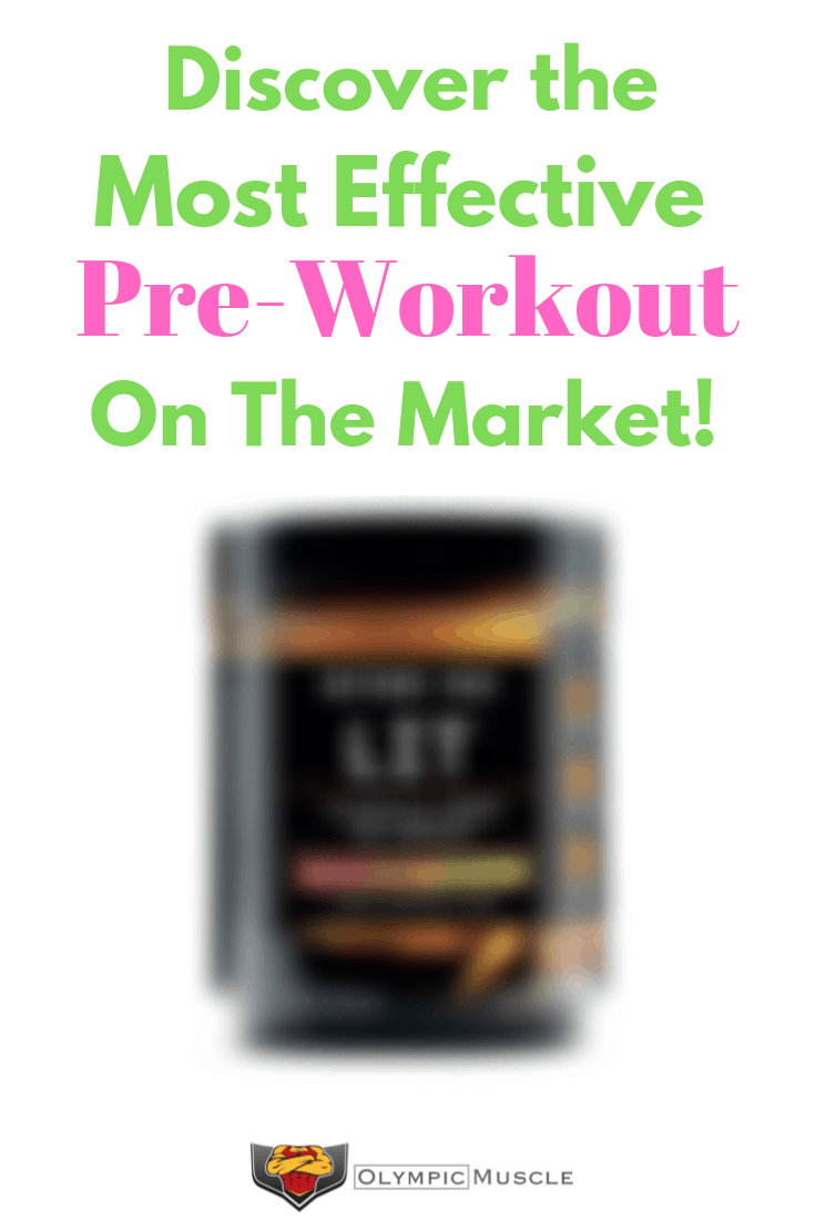 Discover the best pre workout supplement on the market. Great for both men and women!
