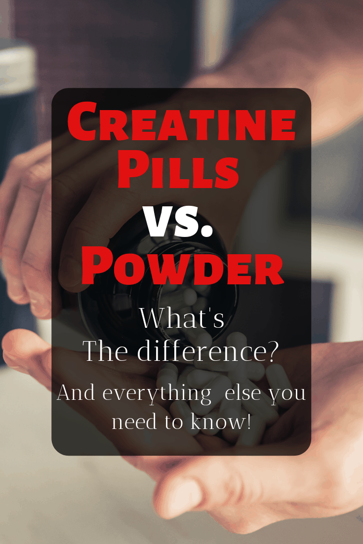Learn everything you need to know about creatine pills and powder!